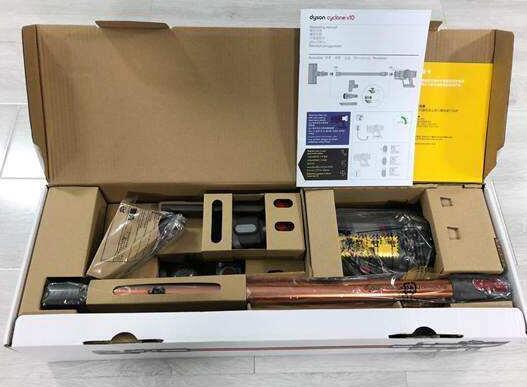 戴森吸尘器怎么样包装以及配件