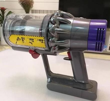 戴森吸尘器弯管灯闪烁