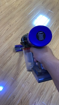 戴森吸尘器不小心吸水图片